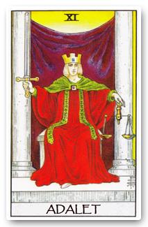 Günün Tarot Kartı : Adalet (Judgement)
