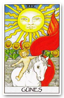 Günün Tarot Kartı : Güneş (The Sun)